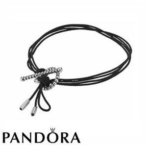 Authentic PANDORA Toggle Rope Bracelet